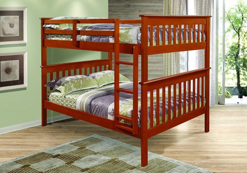 Donco Donco Espresso Full/Full Bunk Bed Available Online in Dallas Fort Worth Texas