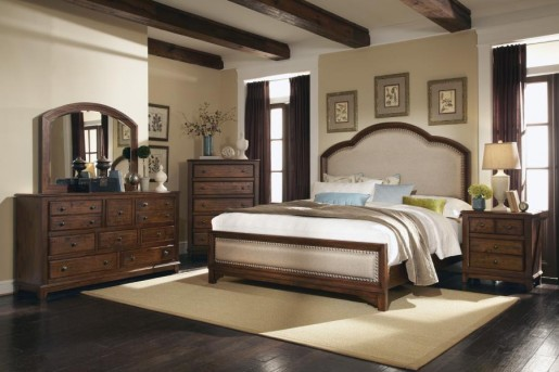 Coaster Laughton Queen Upholstered Bed Available Online in Dallas Fort Worth Texas