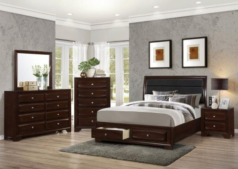 Coaster Jaxson Queen Platform/Storage Bed Available Online in Dallas Fort Worth Texas