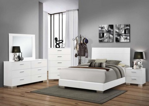 Coaster Felicity Queen Panel Bed Available Online in Dallas Fort Worth Texas