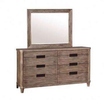 Coaster Madeleine Smoky Acacia Dresser Available Online in Dallas Fort Worth Texas