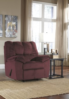 Ashley Julson Burgundy Recliner Available Online in Dallas Fort Worth Texas