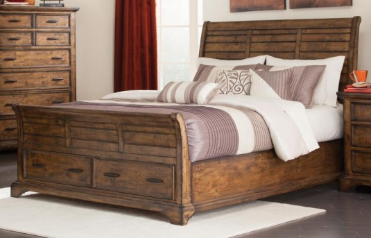 Coaster Elk Grove Queen Platform Storage Bed Available Online in Dallas Fort Worth Texas