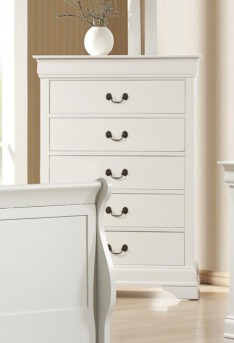 Coaster Louis Philippe White Chest Available Online in Dallas Fort Worth Texas