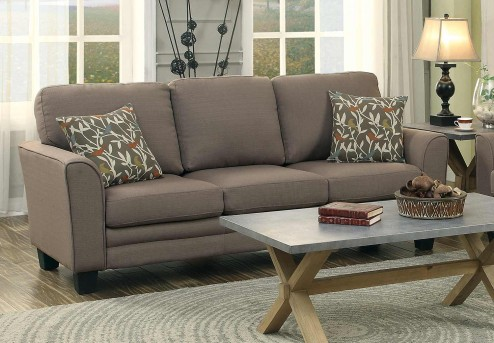 Homelegance Adair Grey Sofa Available Online in Dallas Fort Worth Texas