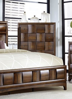 Homelegance Porter Warm Walnut Chest Available Online in Dallas Fort Worth Texas