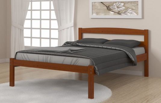Donco Econo Light Espresso Full Bed Available Online in Dallas Fort Worth Texas