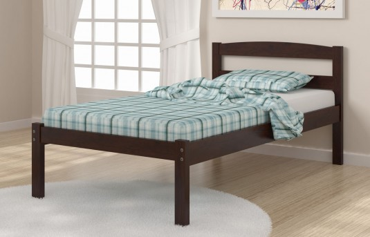 Donco Econo Cappuccino Twin Bed Available Online in Dallas Fort Worth Texas