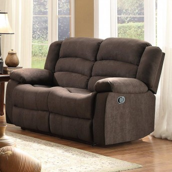 Homelegance Greenville Brown Reclining Loveseat Available Online in Dallas Fort Worth Texas