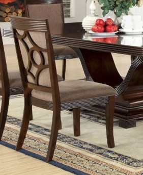FOA Furniture Of America Woodmont Side Chair Available Online in Dallas Fort Worth Texas