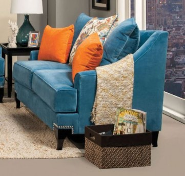 FOA Furniture Of America Vincenzo Loveseat Available Online in Dallas Fort Worth Texas