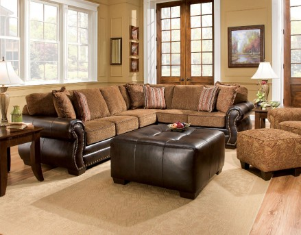 FOA Furniture Of America Dexter Sectional Available Online in Dallas Fort Worth Texas