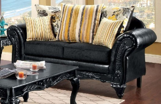 FOA Furniture Of America Thelon Loveseat Available Online in Dallas Fort Worth Texas