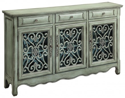Coaster Willow Antique Green Accent Cabinet Available Online in Dallas Fort Worth Texas