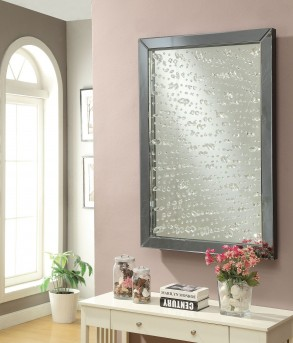 Coaster Accent Mirrors Mirror with Rain Droplet Available Online in Dallas Fort Worth Texas