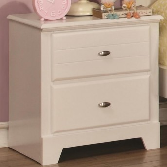 Coaster Ashton White Night Stand Available Online in Dallas Fort Worth Texas