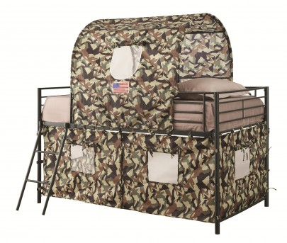 Chapman Camouflage Tent Loft Bed Available Online in Dallas Fort Worth Texas