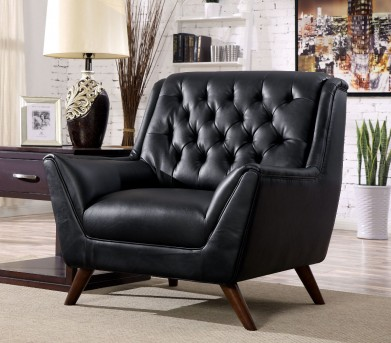 FOA Furniture Of America Leia Black Chair Available Online in Dallas Fort Worth Texas