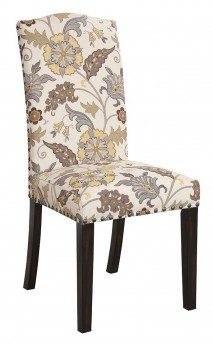 Matisse Floral Pattern Dining Side Chair Available Online in Dallas Fort Worth Texas