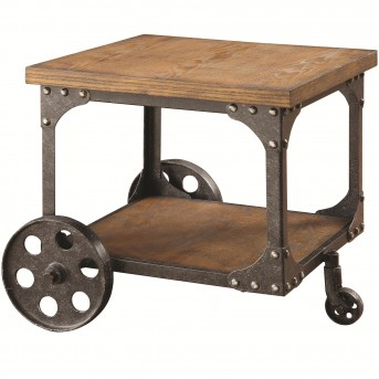 Coaster Damaan Brown End Table Available Online in Dallas Fort Worth Texas