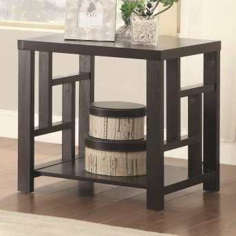 Coaster Balaa Cappuccino End Table Available Online in Dallas Fort Worth Texas