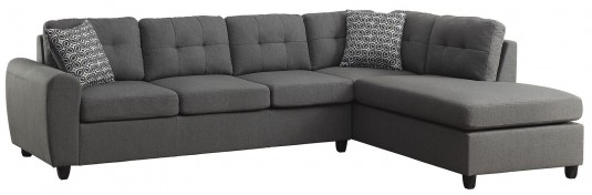 Coaster Stonenesse Grey Contemporary Sectional Available Online in Dallas Fort Worth Texas