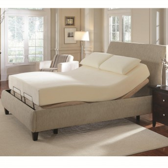 Coaster Zinnia Grey Cal King Adjustable Bed Available Online in Dallas Fort Worth Texas