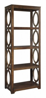 Coaster Enedina Chestnut Open Bookcase Available Online in Dallas Fort Worth Texas