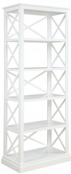Coaster Johansson Antique White Bookcase Available Online in Dallas Fort Worth Texas