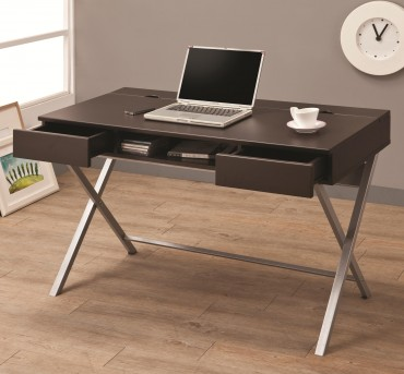 Coaster Almound Cappuccino Computer Desk Available Online in Dallas Fort Worth Texas