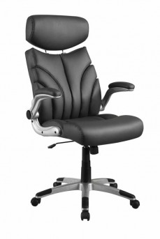Coaster Almound Grey Upholstered Office Chair Available Online in Dallas Fort Worth Texas
