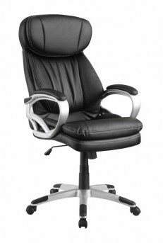 Coaster Almound Black Upholstered Office Chair Available Online in Dallas Fort Worth Texas