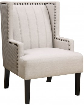 Coaster Kalimbar Beige Chair Available Online in Dallas Fort Worth Texas