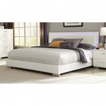 Coaster Felicity King LED Bed Available Online in Dallas Fort Worth Texas