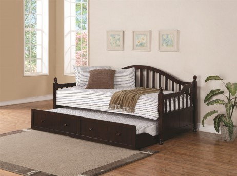 Coaster Traditional Twin Daybed With Trundle Available Online in Dallas Fort Worth Texas