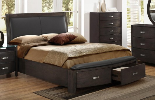 Homelegance Lyric Brown King Bed Available Online in Dallas Fort Worth Texas