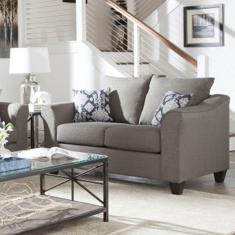 Coaster Salizar Grey Loveseat Available Online in Dallas Fort Worth Texas