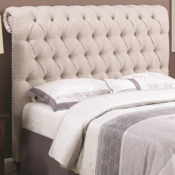 Coaster Devon Beige Cal King Headboard Available Online in Dallas Fort Worth Texas