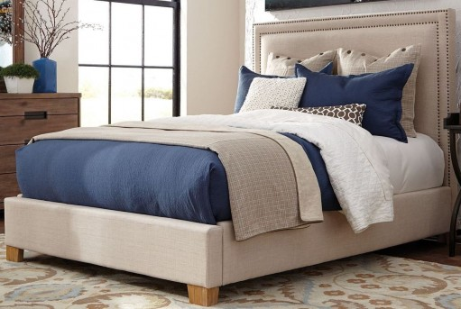 Coaster Madeleine Beige Cal King Bed Available Online in Dallas Fort Worth Texas