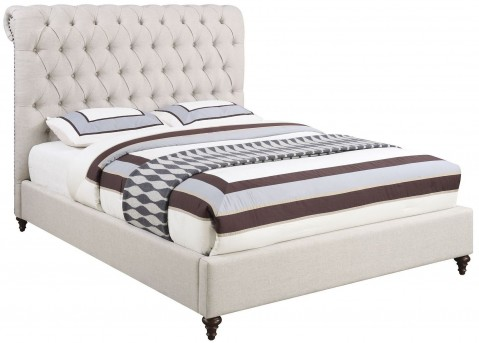 Coaster Devon Grey King Platform Bed Available Online in Dallas Fort Worth Texas