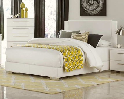 Homelegance Linnea White King Bed Available Online in Dallas Fort Worth Texas
