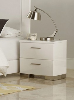Homelegance Linnea White Night Stand Available Online in Dallas Fort Worth Texas