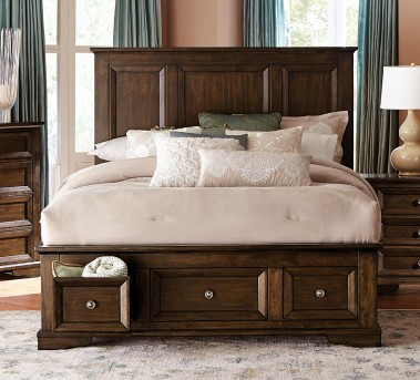 Homelegance Eunice Espresso King Platform Bed Available Online in Dallas Fort Worth Texas