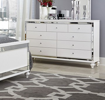 Homelegance Alonza Bright White Dresser Available Online in Dallas Fort Worth Texas