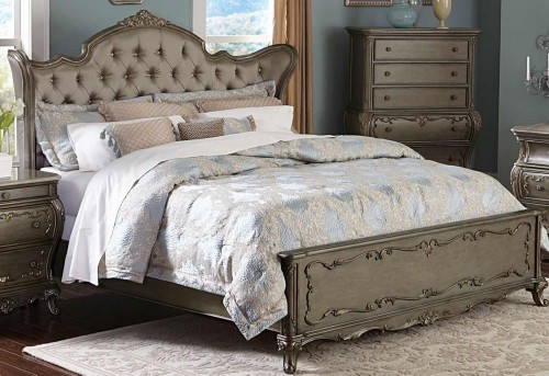 Homelegance Florentina King Wing Bed Available Online in Dallas Fort Worth Texas