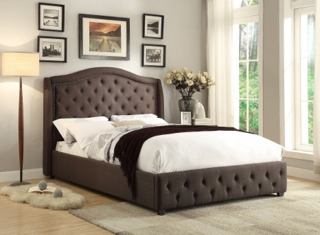 Homelegance Bryndle Dark Grey Queen Bed Available Online in Dallas Fort Worth Texas