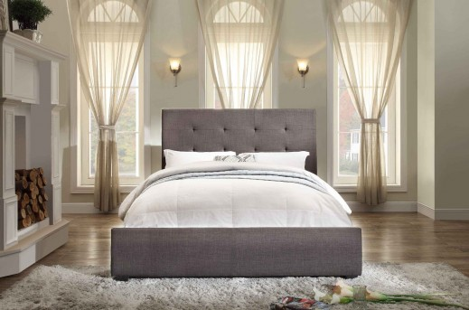 Homelegance Cadmus Dark Grey King Bed Available Online in Dallas Fort Worth Texas