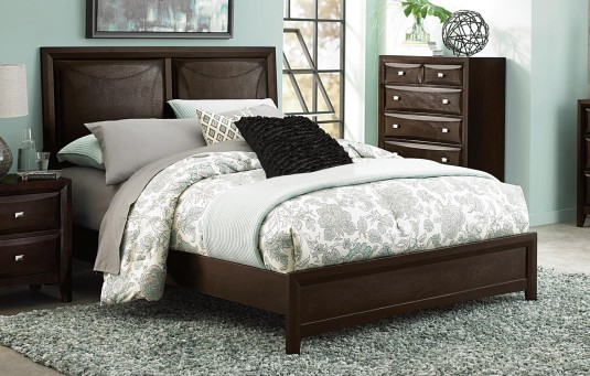 Homelegance Summerlin Espresso Queen Bed Available Online in Dallas Fort Worth Texas