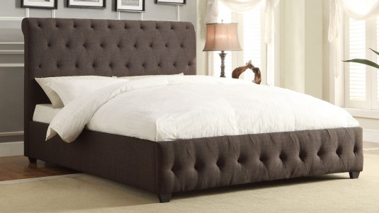 Homelegance Baldwyn Charcoal Full Sleigh Bed Available Online in Dallas Fort Worth Texas