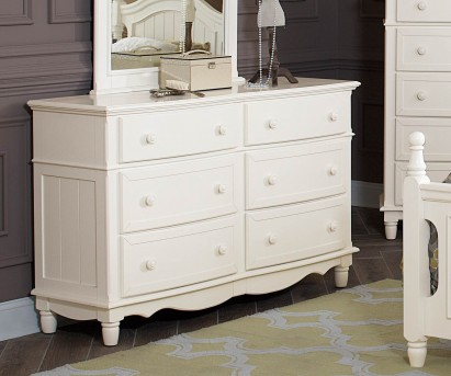 Homelegance Clementine White Dresser Available Online in Dallas Fort Worth Texas